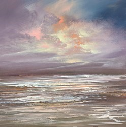 Twilight Sky II by Philip Raskin -  sized 16x16 inches. Available from Whitewall Galleries